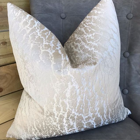 Luxury Mist Handmade Cushion