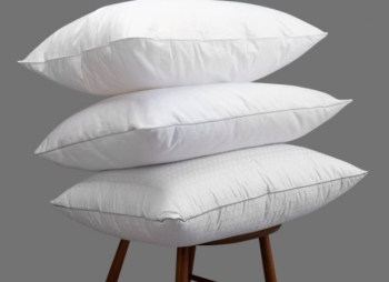 White Duck Feather Bed Pillow