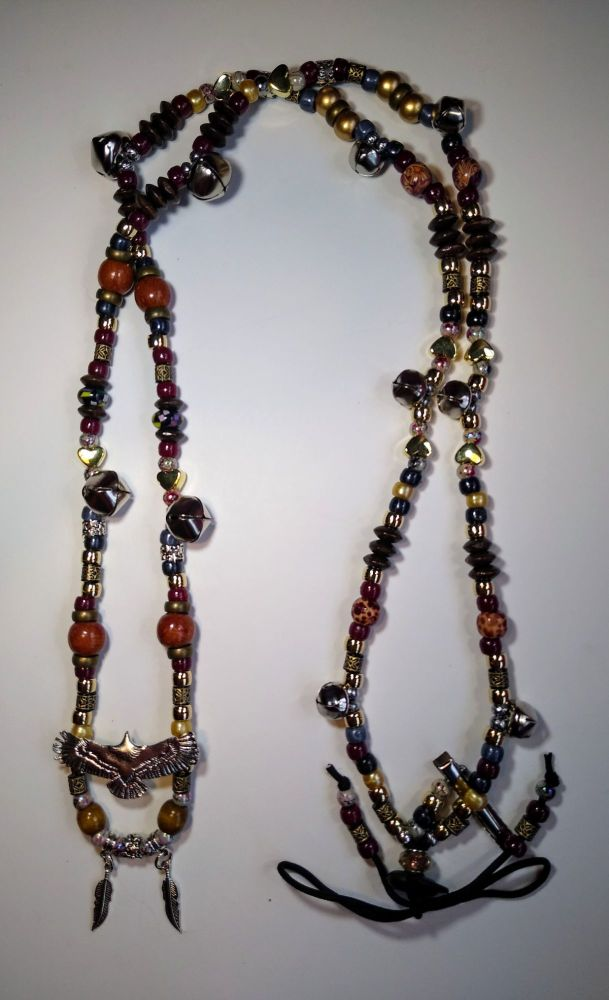 Rhythm Beads - Enlightenment. Eagle and Feathers. Cob to Full Size.
