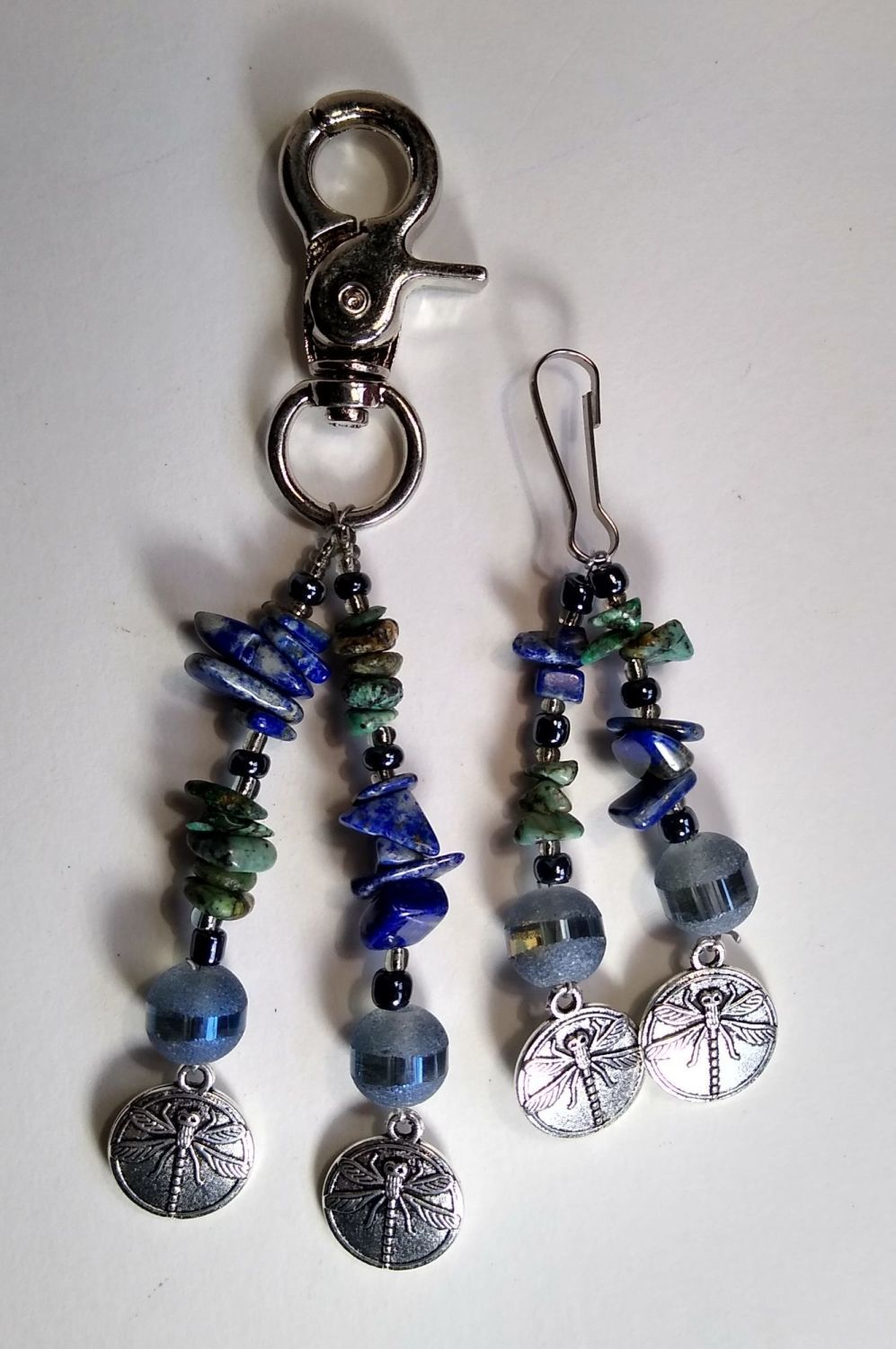 DRAGONFLY HEADCOLLAR AND BRIDLE CHARMS.