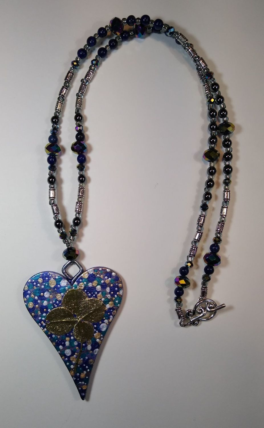 LUCKY HEART NECKLACE