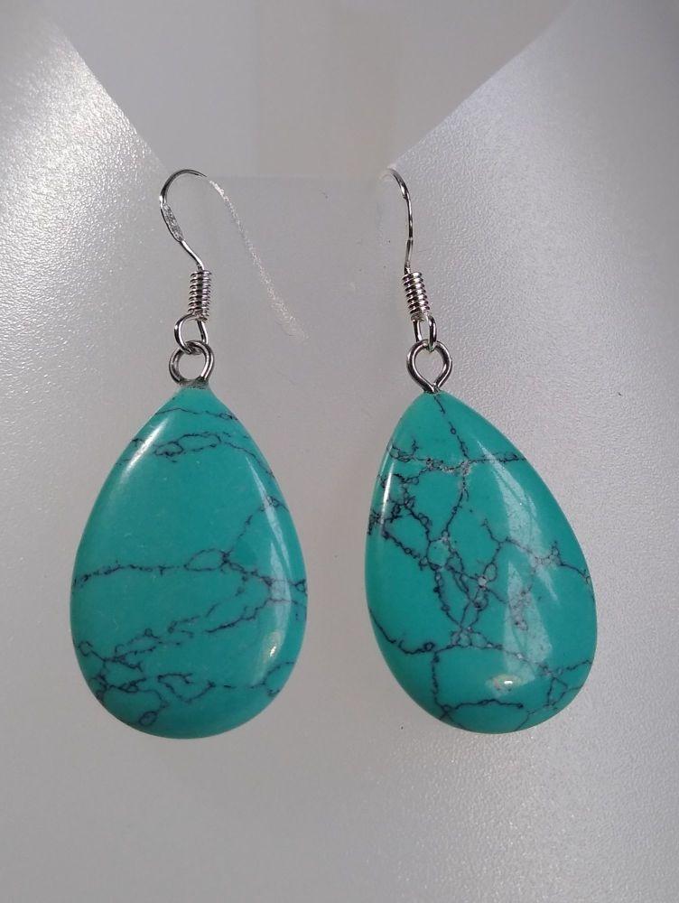Purification Turquoise Drop Earrings