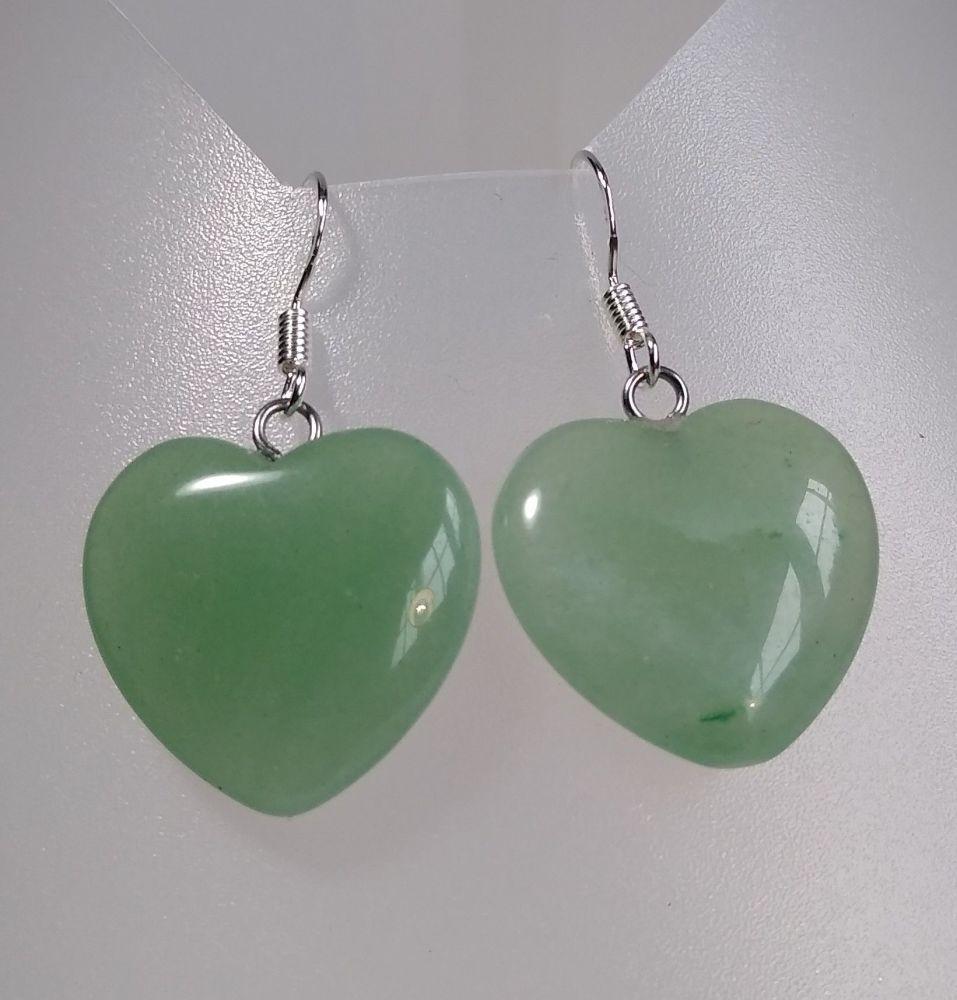 Inner Harmony. Green Aventurine Earrings