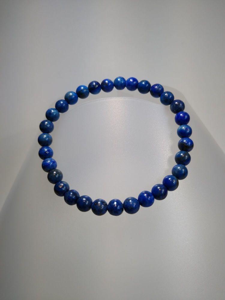 Self-confidence & Friendship. Stretch Bracelet Lapis Lazuli.