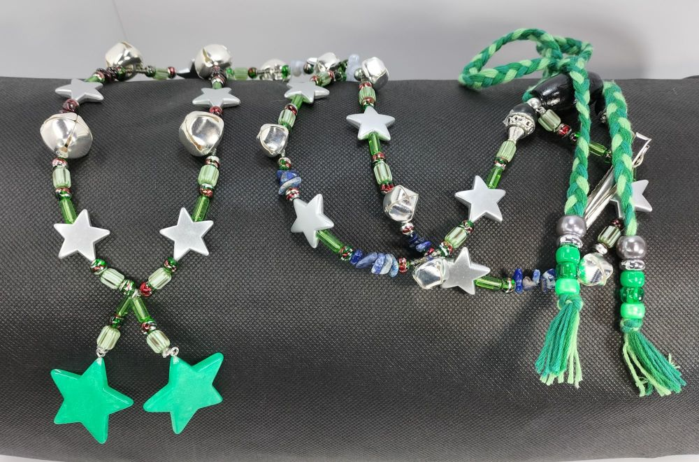 Rhythm Beads - Confidence and Calming.  Pony to Cob / Smaller Horse.