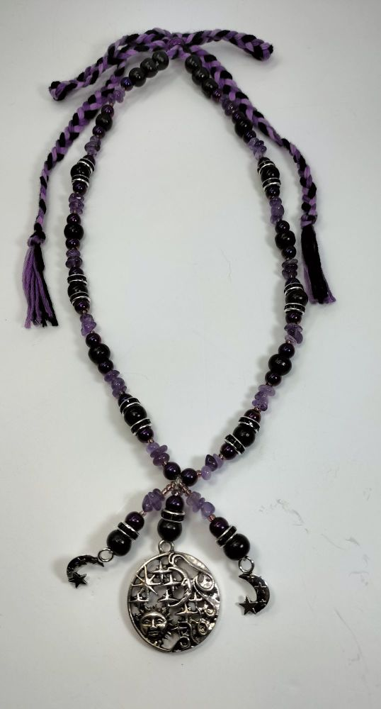 Necklace - Spirituality and Protection. Amethyst