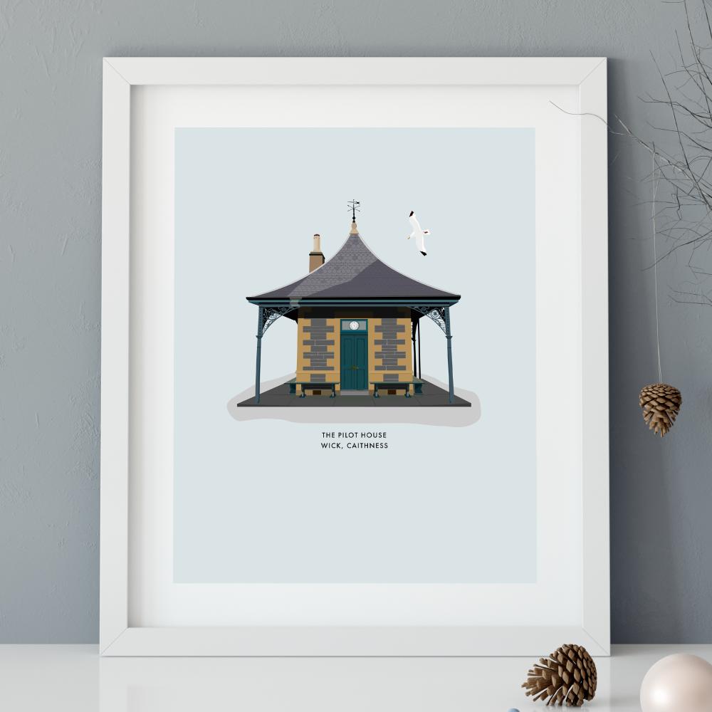 Pilot House Illustration