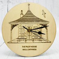 Wick Pilot House Clock