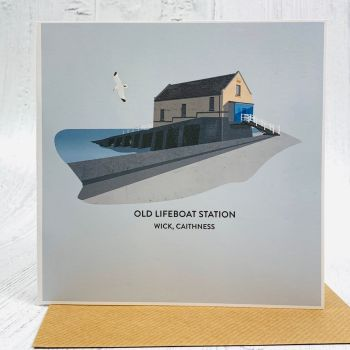 Old Lifeboat Station Card