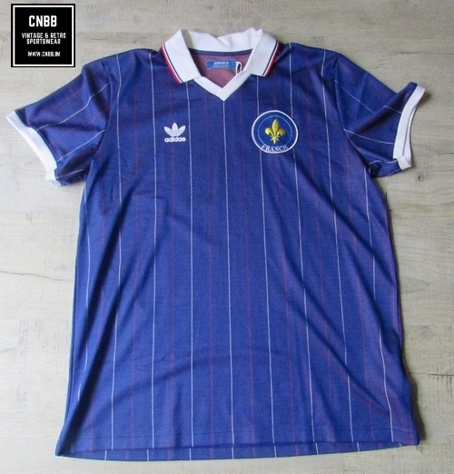 adidas Originals France Retro Football Shirt