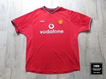 Vintage Umbro Manchester United 2000/01 Home Shirt