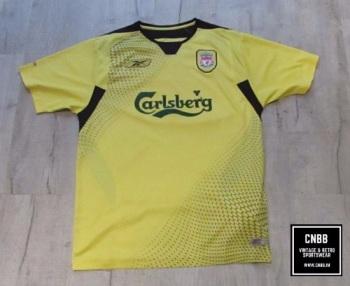 Vintage Reebok Liverpool 2004/06 Away Shirt