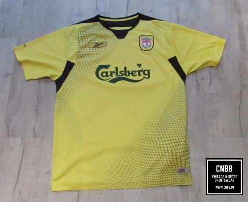 Vintage Reebok Liverpool 2004/06 Away Shirt