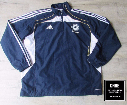 Vintage adidas Chelsea 1/4 Zip Training Jacket