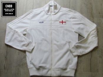 adidas Originals England 1982 Tribute Track Jacket White - Medium