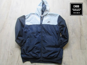 Nike Air Retro Windrunner Jacket Blue and Sky Extra Large Mens