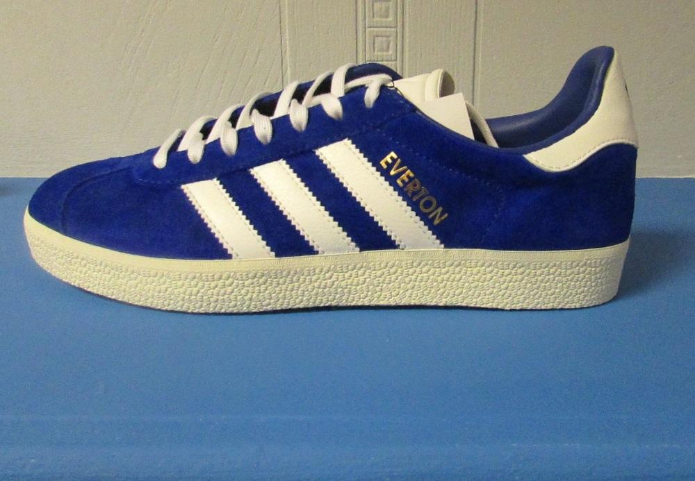 adidas Gazelle Everton Custom Trainers