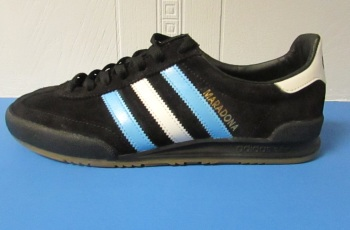 adidas Jeans MKII Custom Maradona Trainers - Size 7