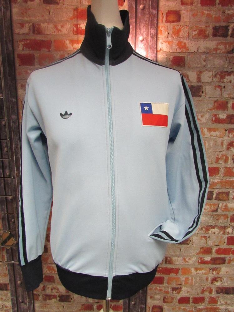Vintage adidas Chile Track Jacket Sky Blue