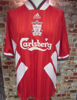 Vintage Liverpool 1994/95 Home Shirt  - Extra Large