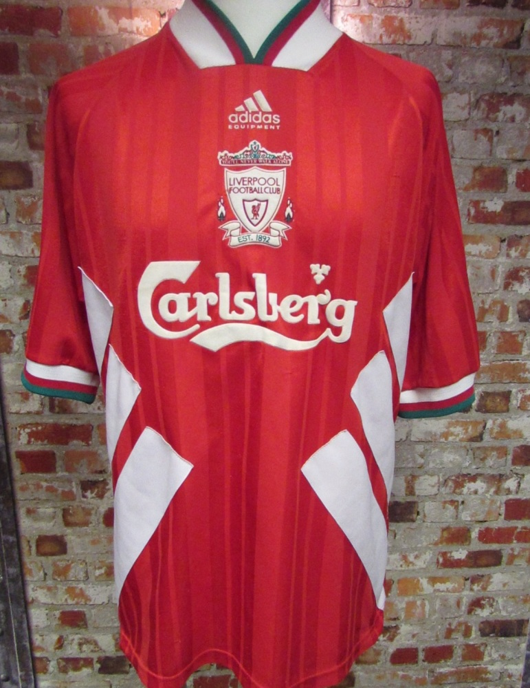 Vintage Liverpool 1994/95 Home Shirt XL Mens
