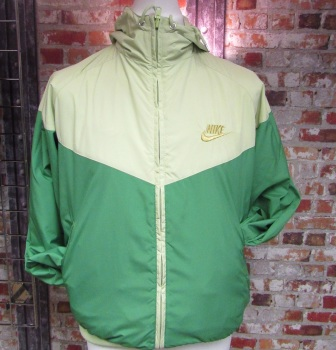 Nike Reversible Green and Yellow Wind-runner - Small