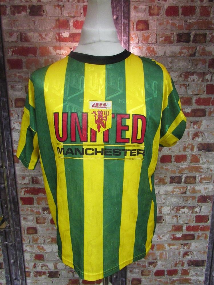 Vintage Umbro Manchester United Newton Heath T-Shirt