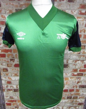 1982/83 Arsenal Original Away Football Shirt Size 34/36''