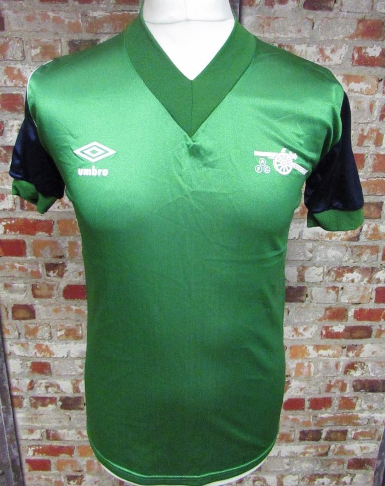1982/83 Arsenal Original Away Football Shirt Size 34/36''