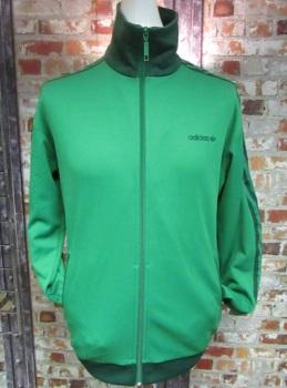 adidas Beckenbauer Track Jacket Green Size Large