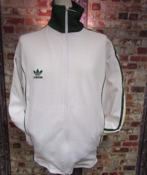 Vintage adidas Australia Track Jacket White, Green and Yellow 2004 Size XL Mens