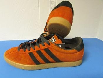adidas Trinidad Trainers Orange and Brown