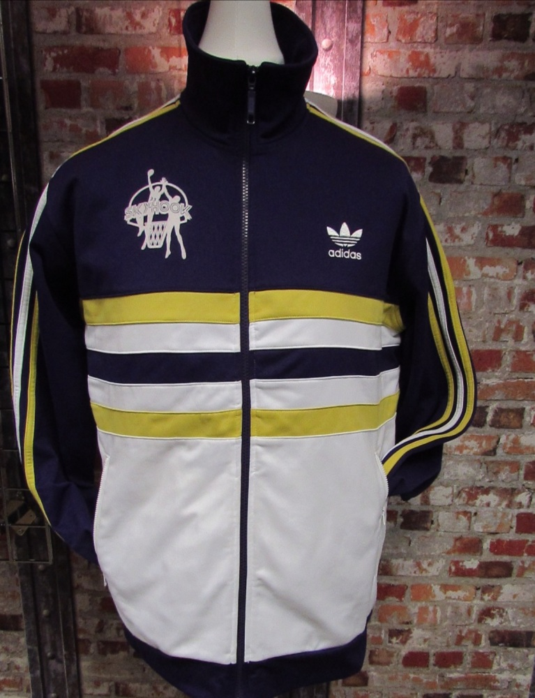 adidas 2005 Skyhook Kareem Abdul Jabbar Track Jacket