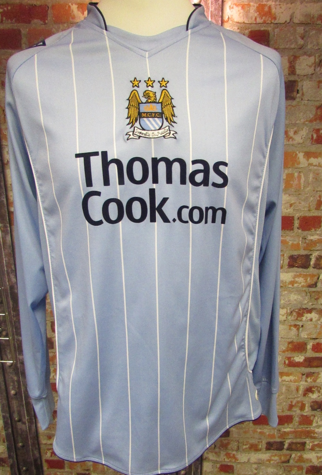 Le Coq Sportif Manchester City 2007/08 Home Shirt