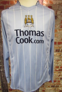 Le Coq Sportif Manchester City 2007/08 Home Shirt