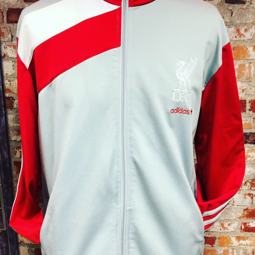 adidas 2009 Liverpool Retro Track Jacket