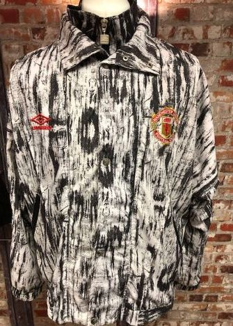 Manchester United Umbro 1992/93 Travel Jacket