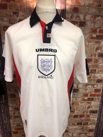 Umbro England Vaportech 1998 Home Shirt