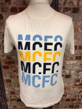 Vintage Umbro Manchester City Training T-Shirt