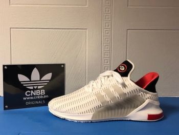 adidas Clima Cool 02/17 White / Red Size 8