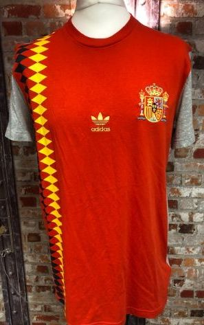 adidas Originals Spain 2014 Euro 96 Themed T-Shirt