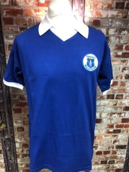 Everton Scoredraw 1978 Home Football Shirt