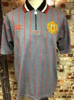 Vintage Umbro Manchester United Polo Shirt