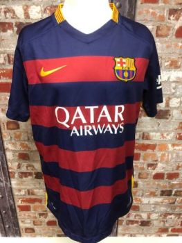 Barcelona Official Nike 2015 Home Football Shirt