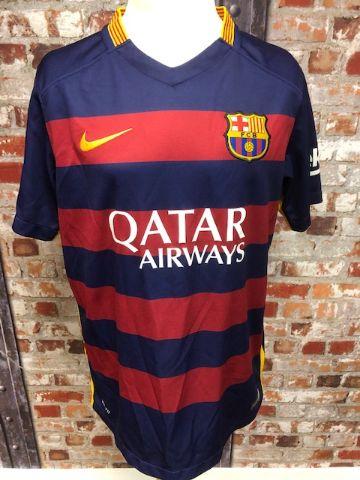 Barcelona Official Nike 2015 Home Football Shirt