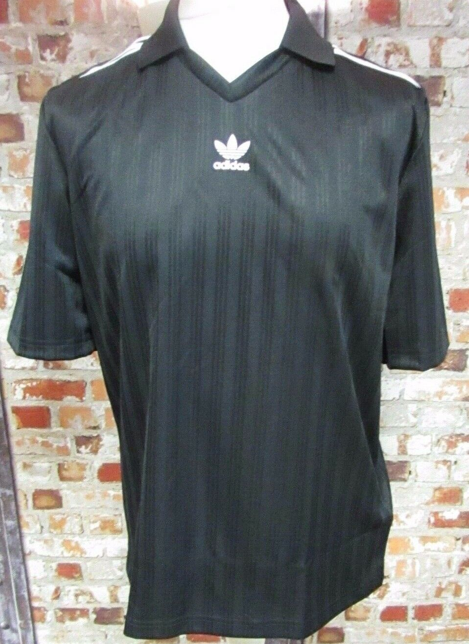 adidas Originals Football Shirt Black and White  Size Medium