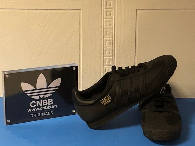 adidas Dragon Blackout Trainers Size 5.5