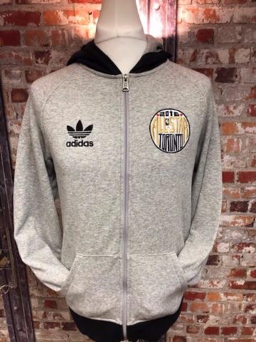 adidas originals Toronto All Stars Full Zip Hooded Jacket Size Small