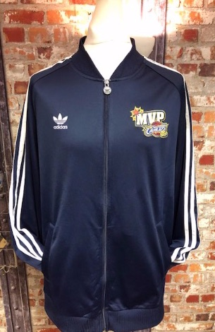 adidas MVP Cleveland Cavaliers Baseball Style Track Jacket navy Size XXL