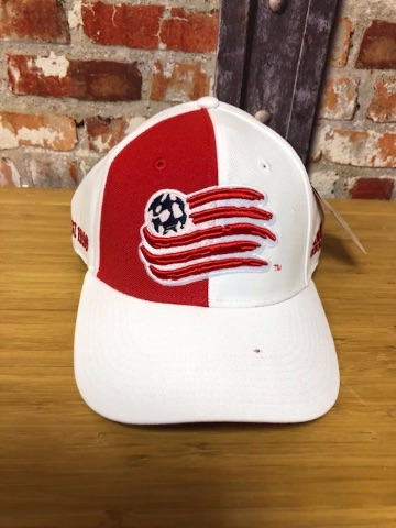adidas New England Revolution MLS Official Retro Cap White and Red